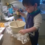 Baking with a toddler – messy but brilliant! – 19 months
