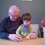 Family Photo Friday – Playing cars with Grandpops