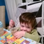 Monkey Ate Pasta!!!! (and how we made mealtimes happier)
