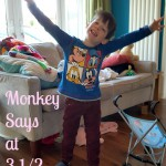 Monkey Says at 3 1/2