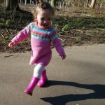 """Walk this way…"" or how to persuade your toddler to walk in the right direction!"