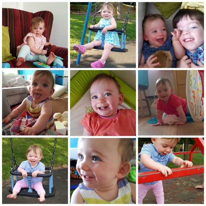 LM 10 mths collage