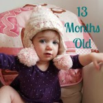 Little Miss at 13 mths