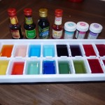 Summer activity – Ice Cube Painting age 14 months
