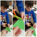 Christmas Crafts with a pre-schooler
