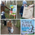 The Stick Man trail at Fineshade Woods