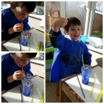 Bubble Painting – 3yrs 10mths
