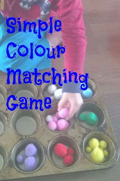 Simple Colour Matching Game