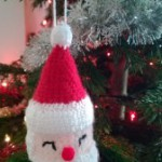 Cute Crochet Christmas Decoration