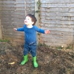 Playing in the Mud – 21 months