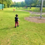 Playtime at the park & fun with flowers