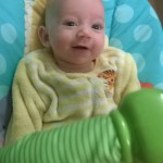 The truth about Making a baby smile