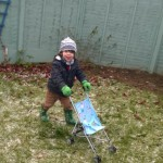Playing outside in the Winter