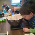Monkey & Daddy Make: Basic Chocolate Biscuits