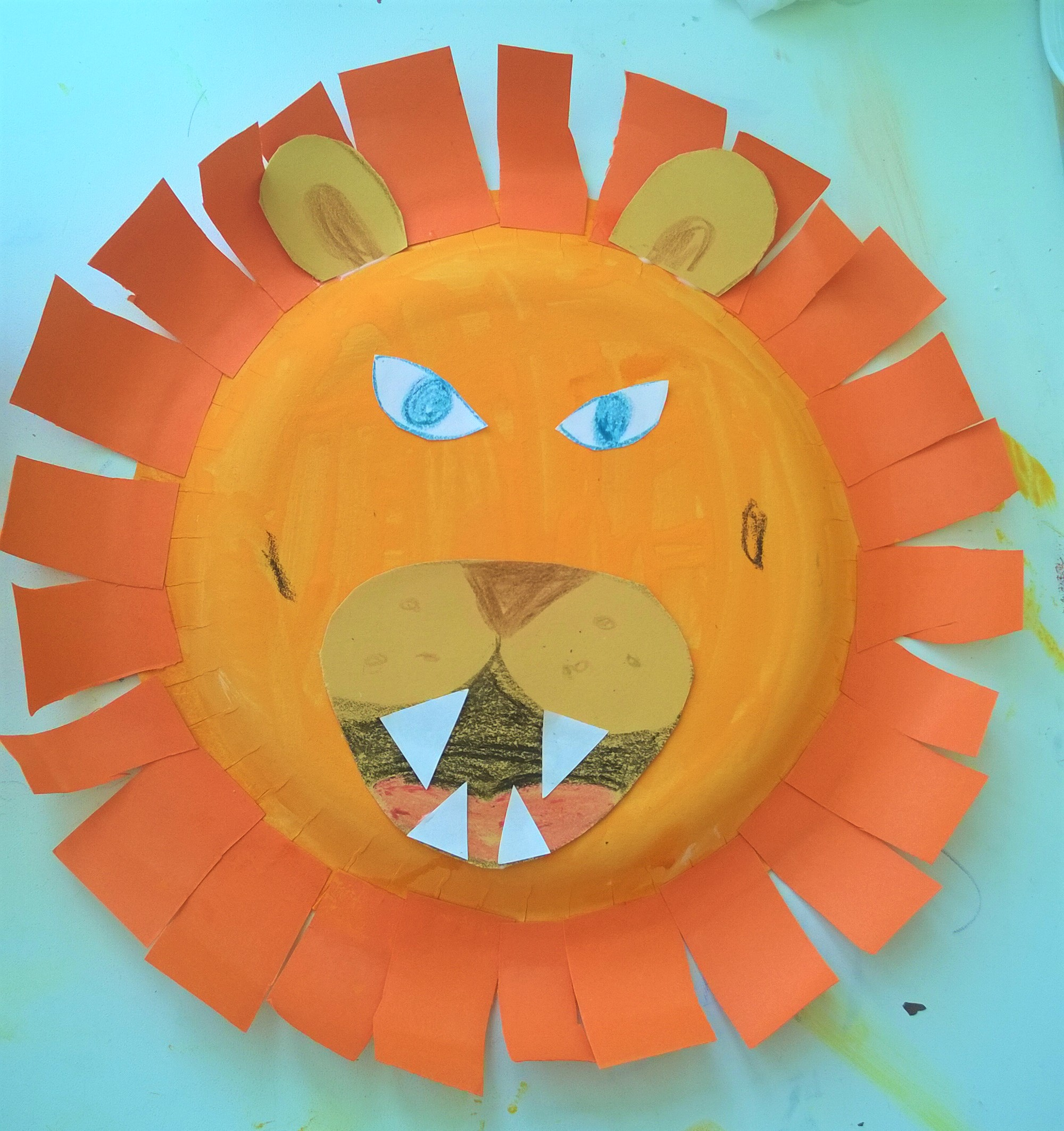One Paper Plate Lion ). WP_20150713_15_28_49_Pro  sc 1 st  Becoming a Stay at Home Mum & Paper Plate Lion Face - Becoming a Stay at Home Mum