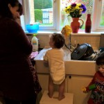 Tap Time – Water Play at 12 mths