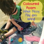 When Messy Play goes wrong…