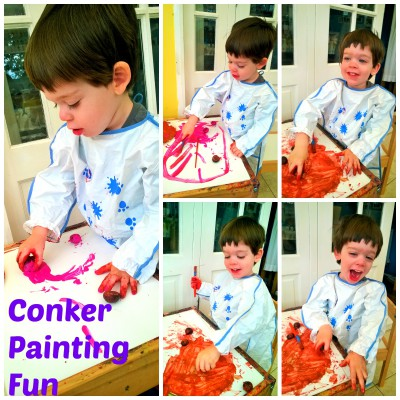 conker painting fun