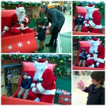 Meeting Father Christmas, and some Reindeer