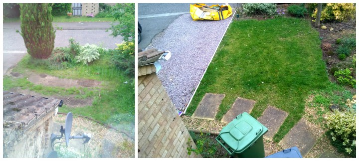 The 'small' changes to the front garden!