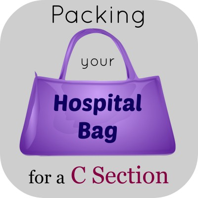 hospital bag for a c section