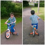 Our little cyclist