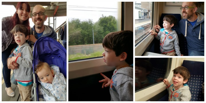 on the train 1