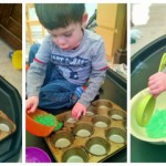 Water Bead Play – 35 mths old